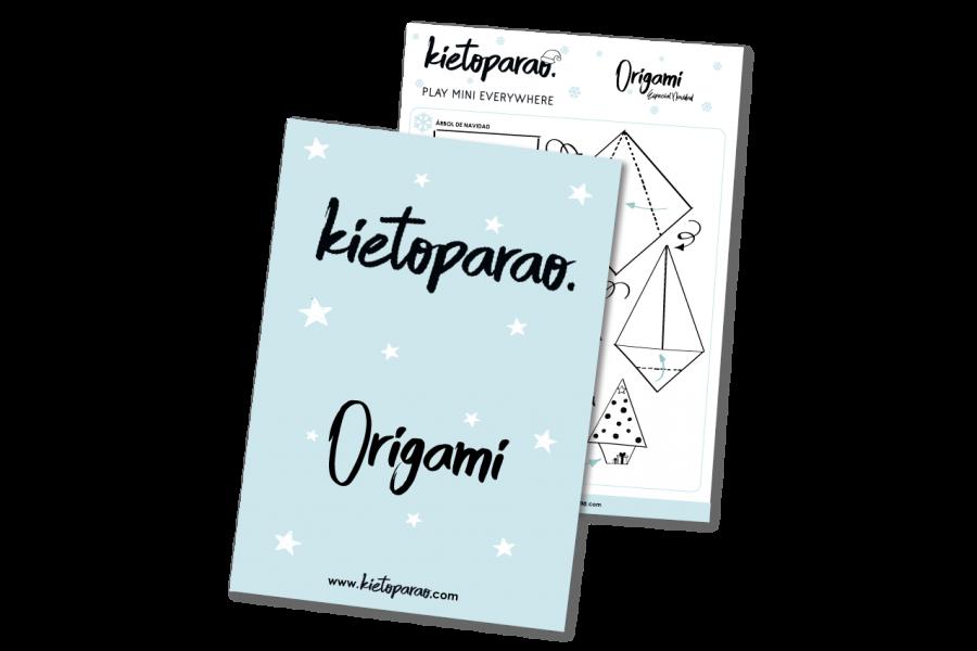 Árbol de Navidad Origami descarga Kietoparao
