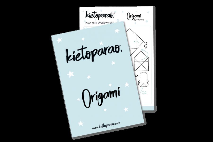 Muñeco de nieve Origami descarga Kietoparao